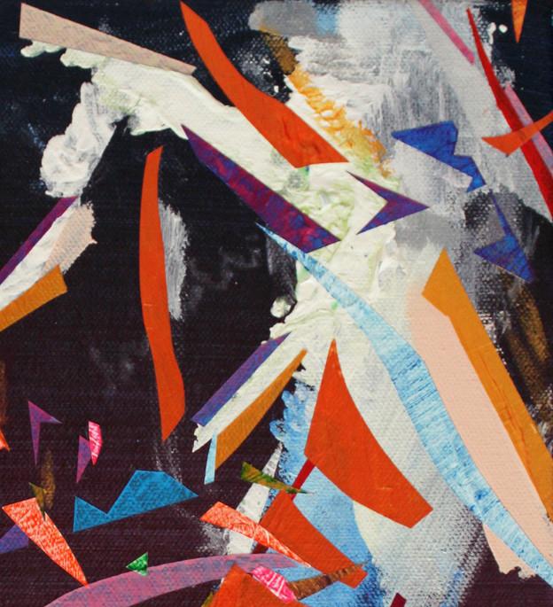 Masts (detail), 2018