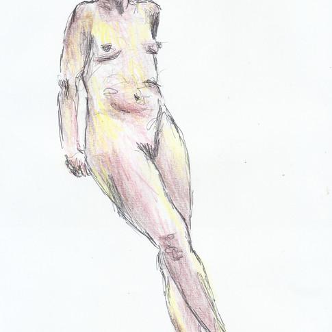 Life drawing, 2017