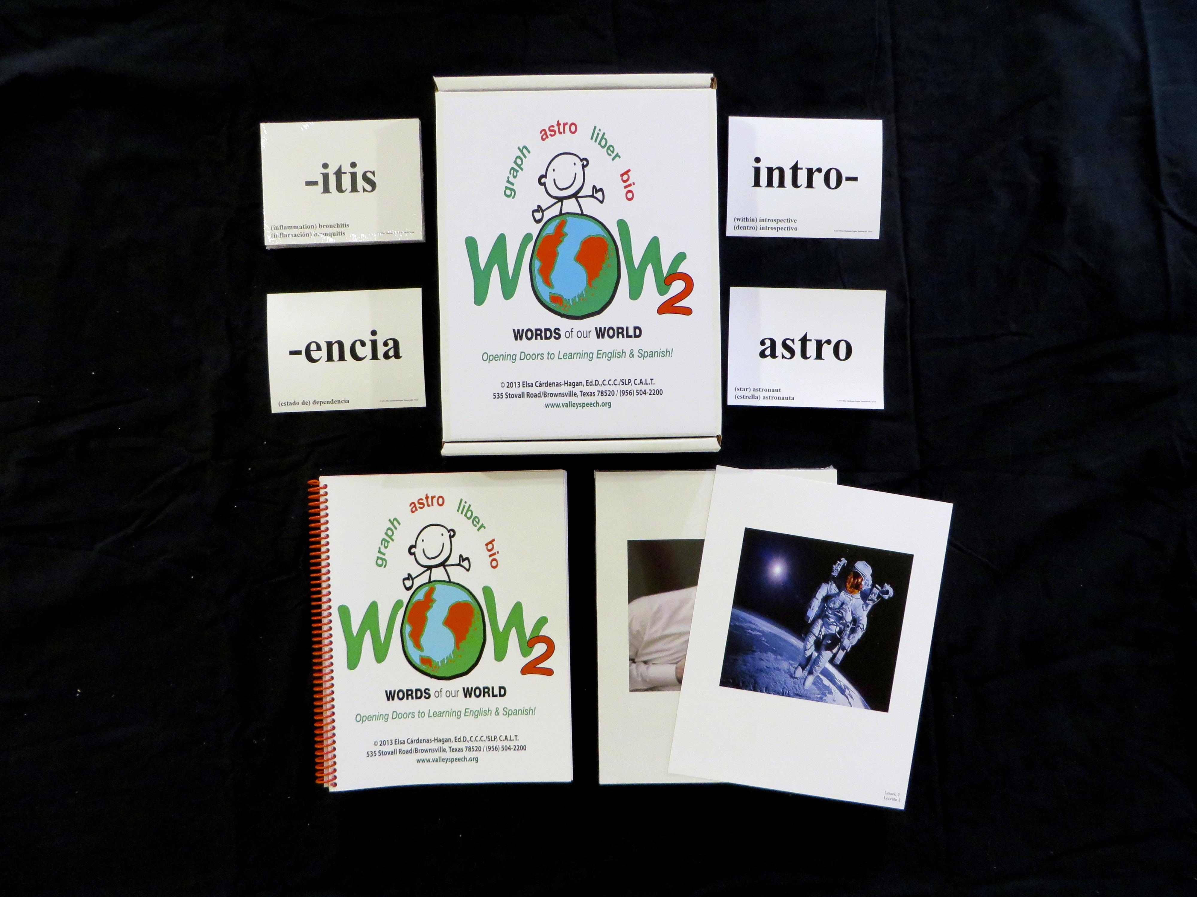 WOW 2 Vocabulary Program