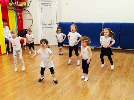 Учим малышей прыжкам. Часть 1
