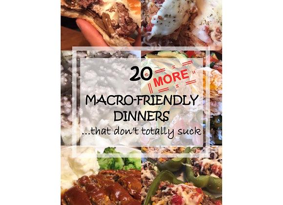 Macro-Friendly Cookbook Volume II