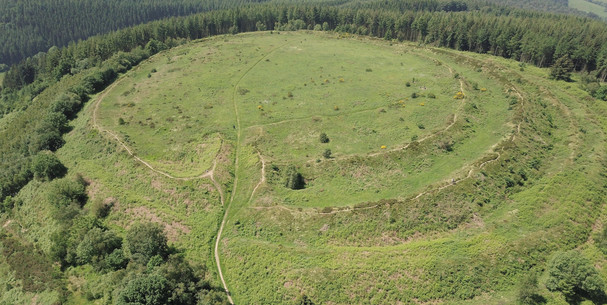Bury Ditches Hill Fort Shropshire