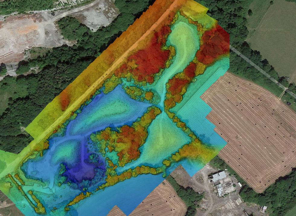 Quarry survey