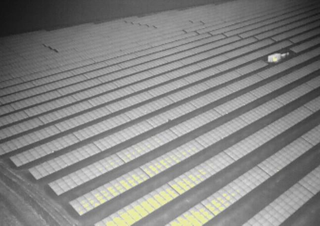 Solar panel farm survey