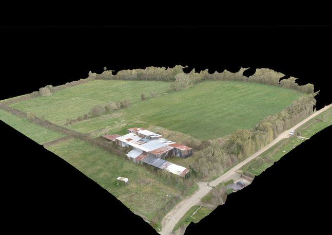 Still from Drone Deploy 3D Modelling project