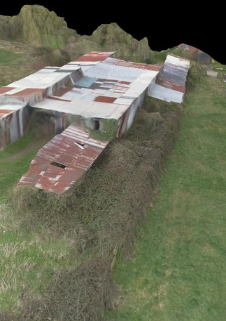 3D modelling survey of old building for architects