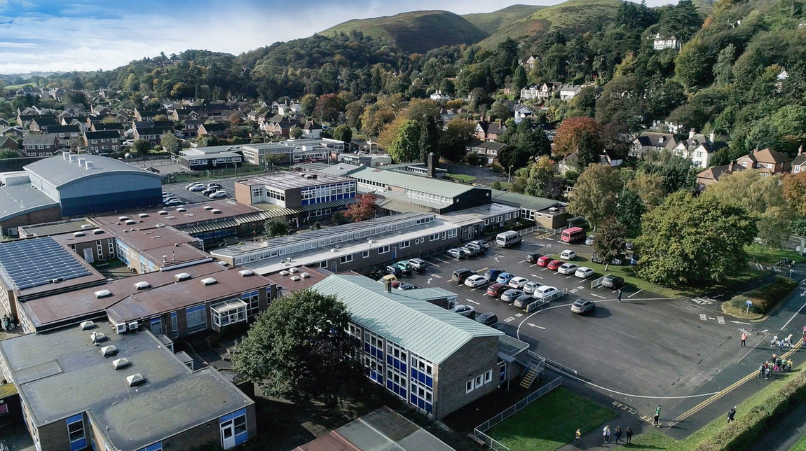 Roof survey for school Shropshire