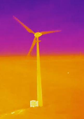 Wind farm survey