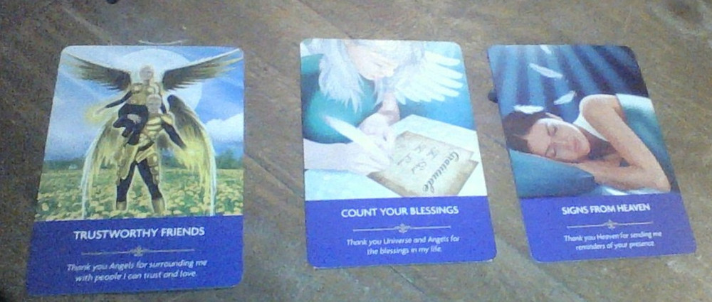 Oracle cards that focus on Angel messages are a great tool to get direct messages to the witch from their Angel guides.