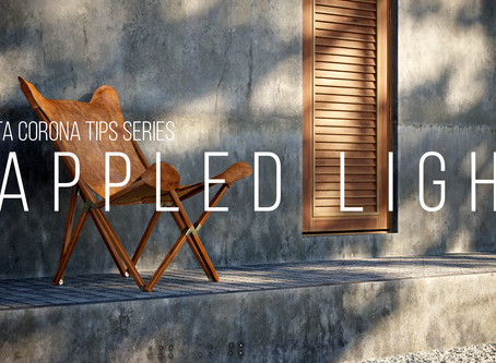 Corona tutorial #1 - Dappled light