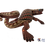 Thumbnail: Wooden Alebrije | Medium Size Brown Salamander