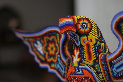 Aguila de Chaquira - Arte Huichol