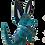 Thumbnail: Alebrije de Madera | xoloitzcuintle Mediano Azul