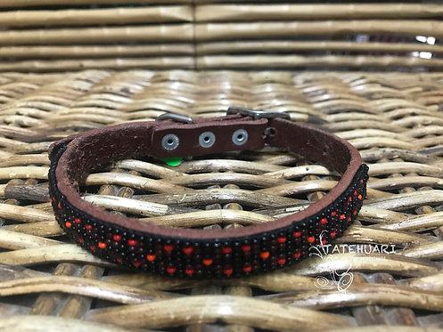 Collar De Chaquira Para Perros Huichol Raza Mini - Arte Huichol