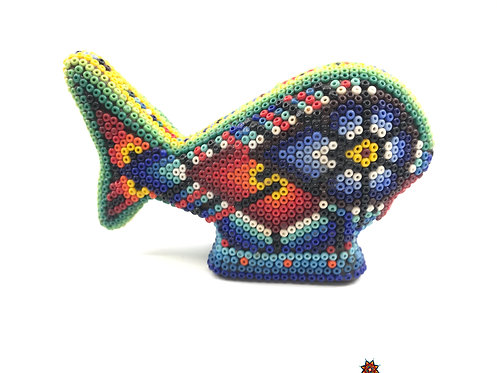 Ballena de Chaquira - Arte Huichol