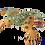 Thumbnail: Wooden Alebrije   Medium Brown Salamander