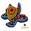 Thumbnail: Arte huichol - Tortuga Forrada Con Chaquira
