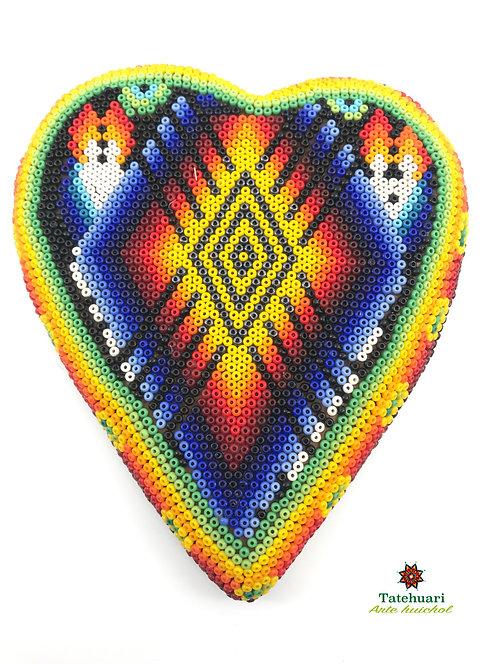 Corazón De Chaquira - Tatehuari - Artesanía Huichol