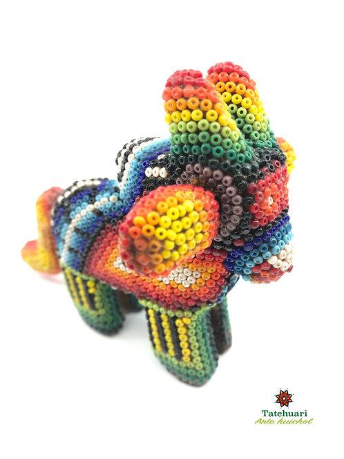 Toro de Chaquira - Arte Huichol