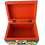 Thumbnail:  Wooden Alebrije | Alhajero Box Blue-Yellow small size