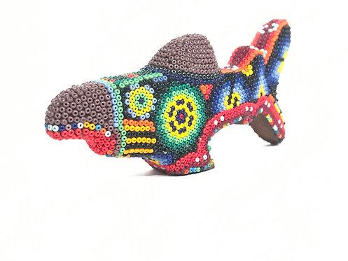 TIBURON - Arte Huichol