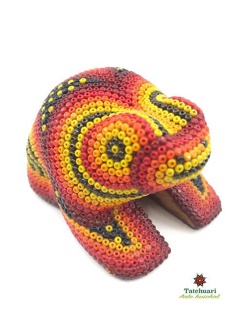 Sapo de Chaquira - Arte Huichol