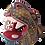 Thumbnail: Wood Alebrije | Pink Jaguar Head