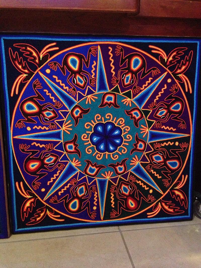 Proveedores De Arte Huichol En Mexico Tatehuari Artesania Mexicana