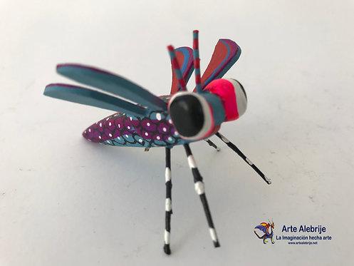 Wooden Alebrije | Small Size Dragonfly