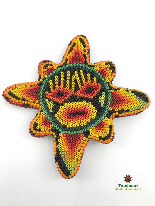 Sol de Chaquira - Arte Huichol