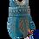 Thumbnail: Alebrije de Madera | Buho mediano Azul Aqua