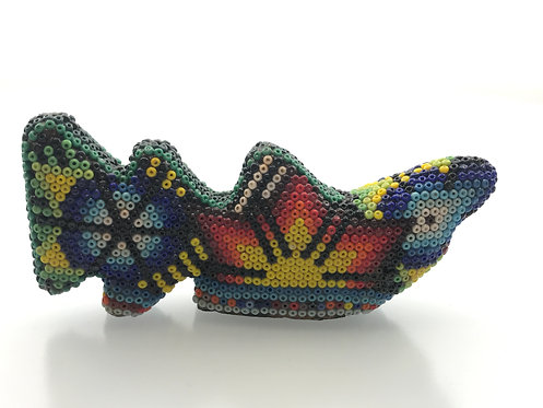 Tiburón de Chaquira - Arte Huichol