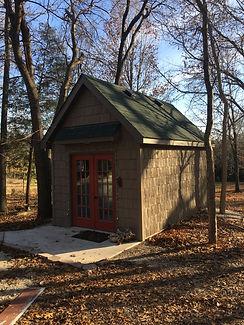 Pen Brady's artist studio near Stocton Lake in Missouri