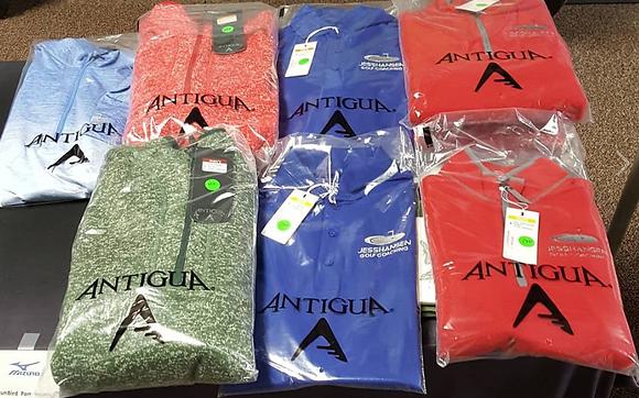 Junior Antigua 3/4 Zippers