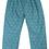 Thumbnail: Enfant Terrible-Webhose lang Geometriemuster in jade-navy