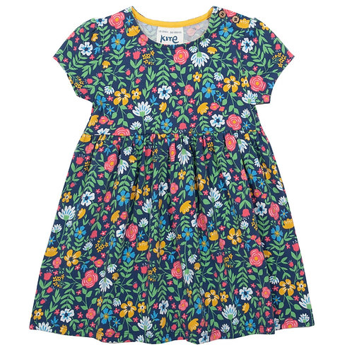 Kite-Petal Press Kleid