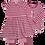Thumbnail: Enfant Terrible-Jerseykleid Streifen+Katze In Malve-Altrosa
