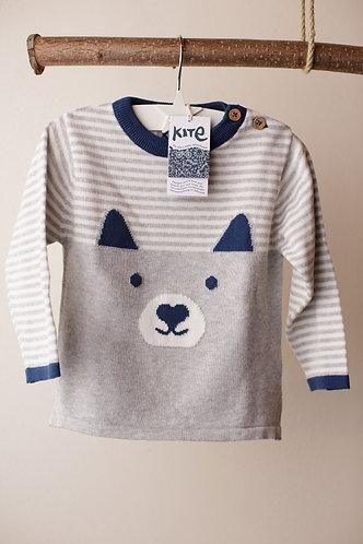 KIte-Pullover Strick
