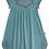 Thumbnail: Enfant Terrible-Jersey Kleid Stickerei In Jade