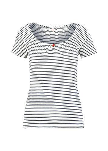 Blutsgeschwister-Logo Stripe Heart T-shirt
