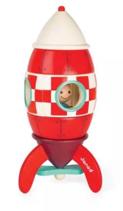Janod Giant Magnetic Rocket