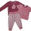 Thumbnail: Enfant Terrible-Babyhose Webstoff kleine Blumen in hellrosé-altrosa