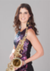 Lena Cuglietta, female saxophonist of VoSSa