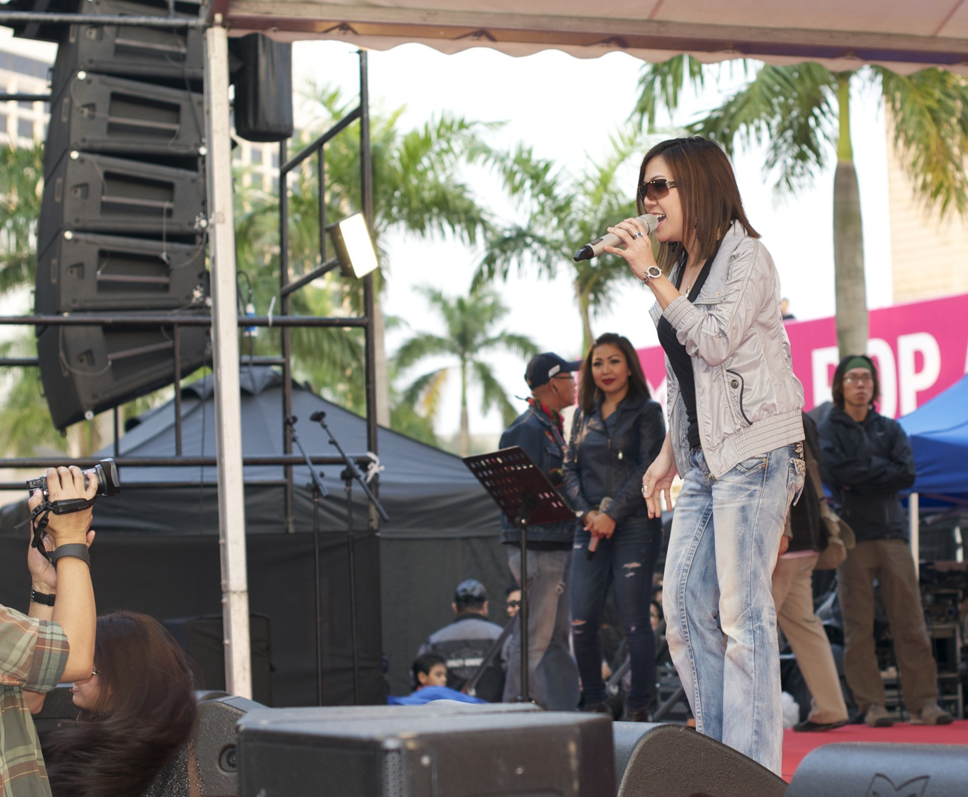 Ela Alegre - Concert at the Park