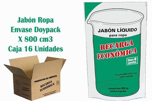Jabón Ropa X 800 Caja X 16 Unidades ($ 41,31 C/U)