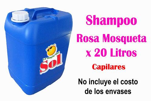 Shampoo Rosa Mosqueta X 20 Litros