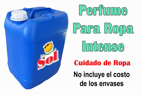 Perfume p/Ropa Intense X 20 Litros ($ 189,00 x Litro)