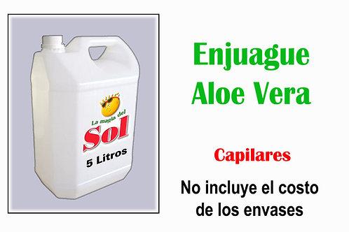Enjuague Aloe Vera Capilar X 5 Litros ($ 61,00 x Litro)