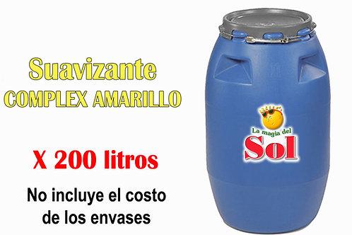 Suavizante Complex Amarillo X 200 Litros ($27 x Litro)