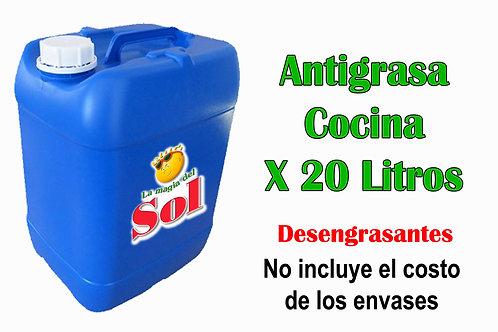 Antigrasa Cocina X 20 Litros